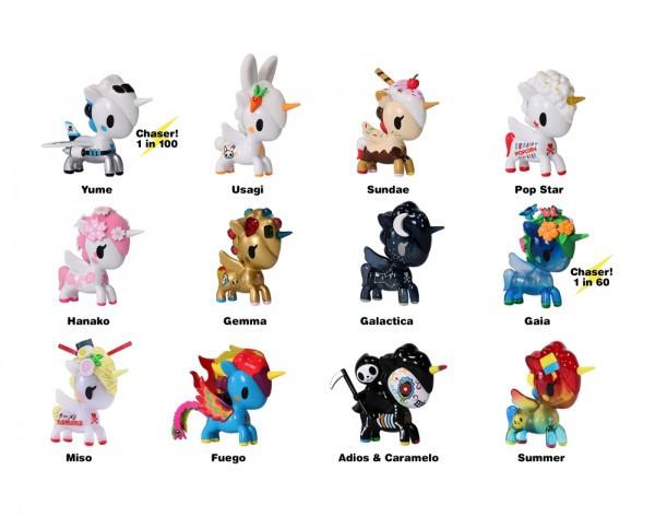 Tokidoki Unicorno Series 7 Mystery Blind Box Figure 4 Blind Boxes NEW Toys