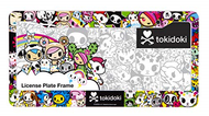 Tokidoki License Plate cover
