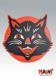 black Cat Vintage style Halloween Wall decoration