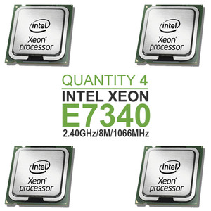 Qty 4 | Intel Xeon E7340 Quad Core Processor 2.40GHz/8M/1066MHz