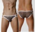 Amimal Print Leopard V-Cut Bikini