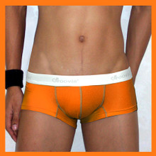 Groovin - Orange Cup Boxer Brief Underwear