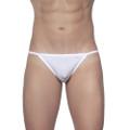 String Bikini White