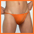Groovin - Orange String Bikini Brief Underwear
