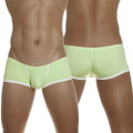 Groovin - Super Extra Low Waist Cup Boxer Brief Green