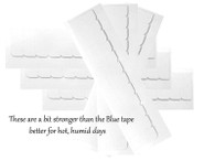 This is the stronger tape, better for hot humid days.