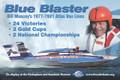 Bill Muncey Blue Blaster Poster