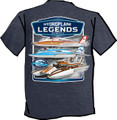 Hydroplane Legends Ladies Long Sleeve Tee