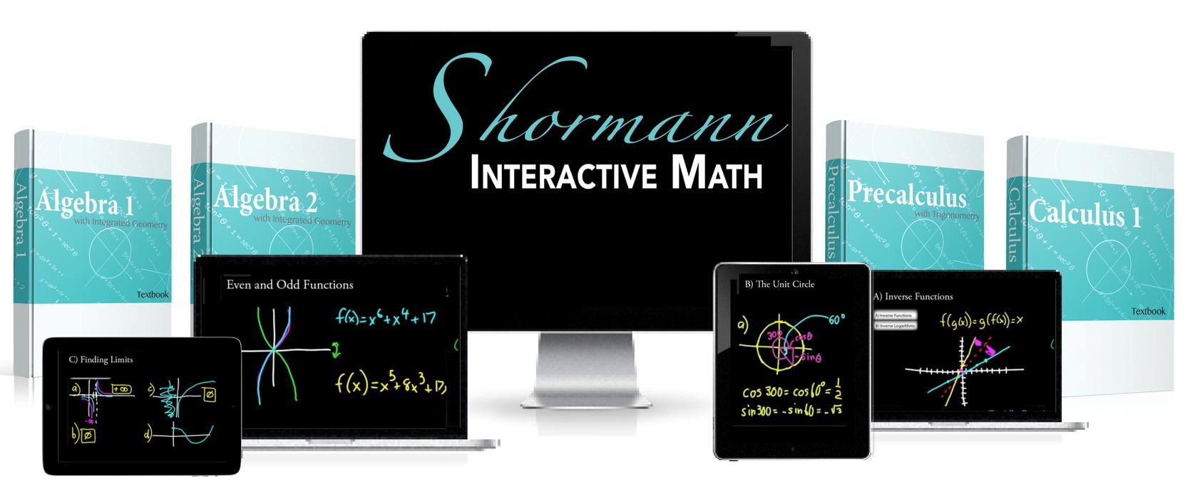 Shormann Math - Interactive And Digital Homeschool Curriculum | DIVE