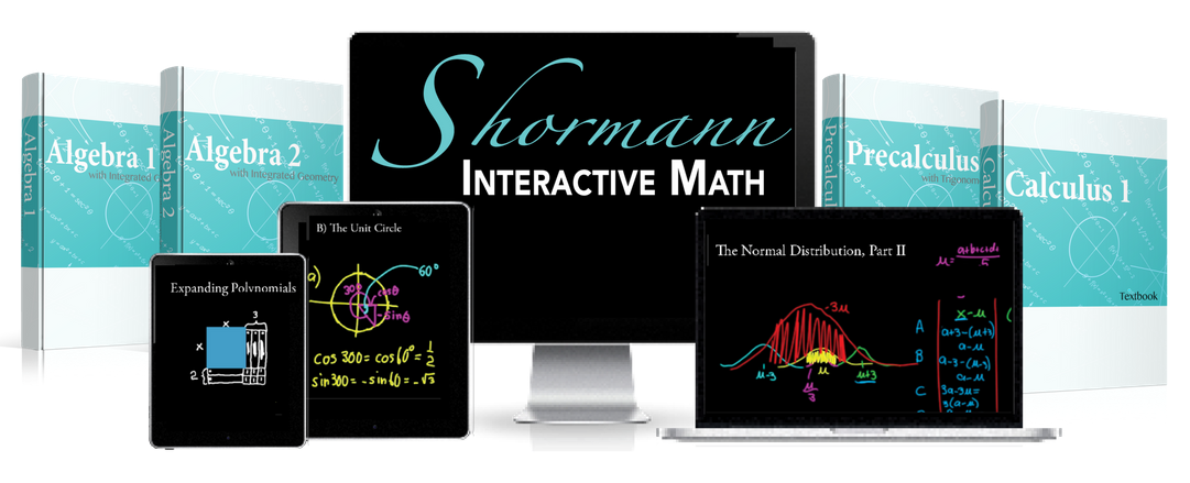 Shormann Algebra 2 With Integrated Geometry Self Paced Elearning