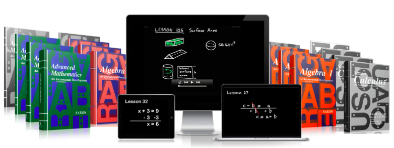 Online math curriculum build strong math skills with a biblical saxon algebra 1 2 advanced math and calculus fandeluxe Gallery