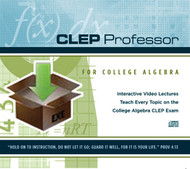 Digital Download for CLEP Professor College Algebra