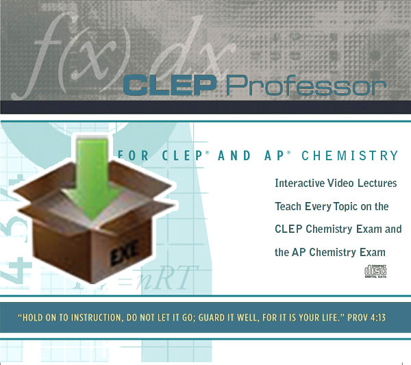 Digital Download for CLEP Professor for CLEP and AP Chemistry