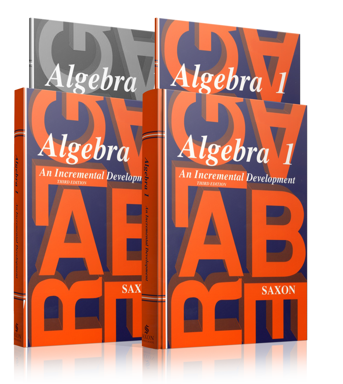 Saxon Algebra 1, Third Edition Complete Homeschool Kit with Solutions  Manual