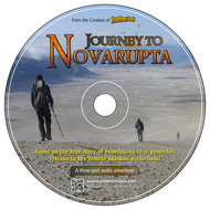 CD of Journey to Novarupta Audio Adventure