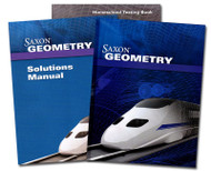 Homeschool Kit for Saxon Geometry 1st Edition with Solutions Manual