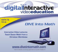 CD-ROM for DIVE Math 76, 3rd Edition