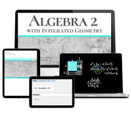 Shormann Algebra 2 with Integrated Geometry Self-Paced eLearning Course