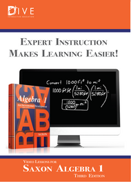 CD Lectures for Saxon Algebra 1, 3rd Edition