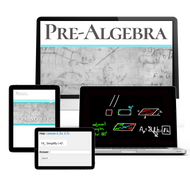 Shormann Prealgebra Self-Paced eCourse 12 Month Subscription No Sibling