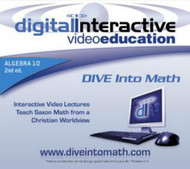 CD-ROM for DIVE Algebra 1/2, 2nd Edition