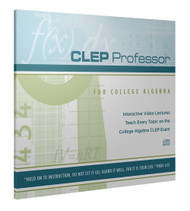 CLEP Professor for CLEP College Algebra CD-ROM