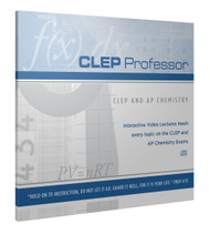 CLEP Professor for CLEP and AP Chemistry CD-ROM