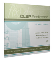 CLEP Professor for CLEP Precalculus CD-ROM