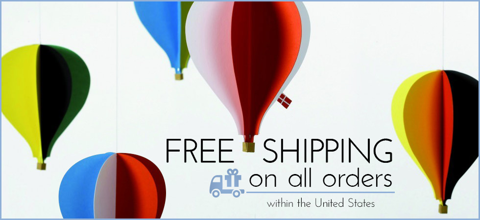 Free Shipping On All Orders Within the US!