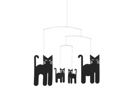 Cats Mobile by Flensted
