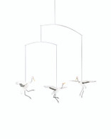 Crane Dance Mobile by Flensted
