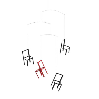 Flying Chairs Mobile by Flensted