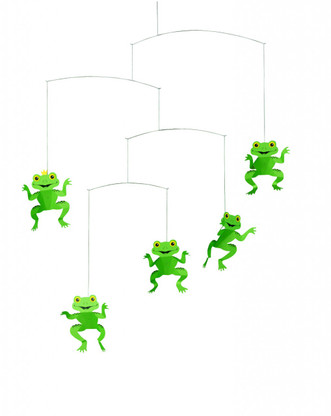 Happy Frogs Mobile by Flensted