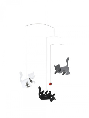 Kitty Cats Mobile by Flensted