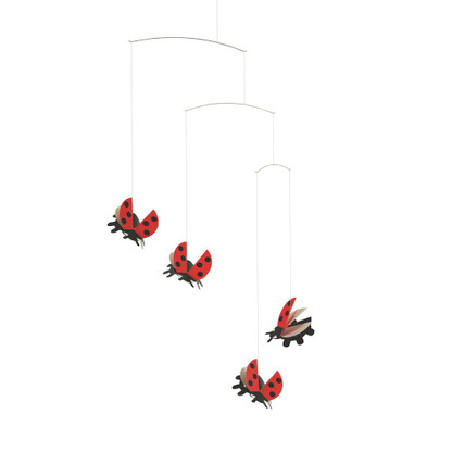 Ladybird Mobile by Flensted