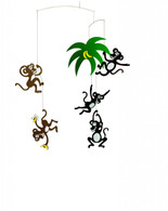 Monkey Mobile by Flensted