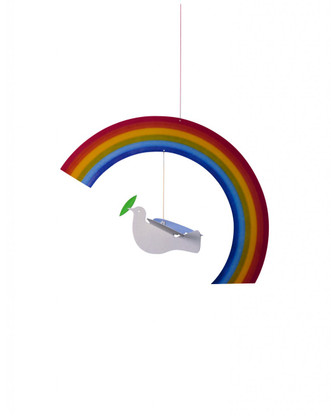 Noah's Rainbow Mobile by Flensted