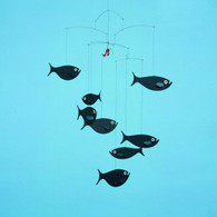 Shoal of Fish Mobile by Flensted