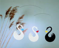 Swan Fantasy Mobile by Flensted