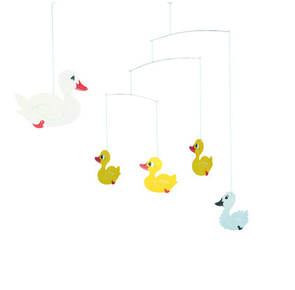 Ugly Duckling Mobile by Flensted