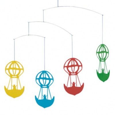 Andersen Balloon Mobile in Black by Flensted Mobiles