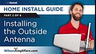 installing outside antenna