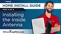 installing inside antenna