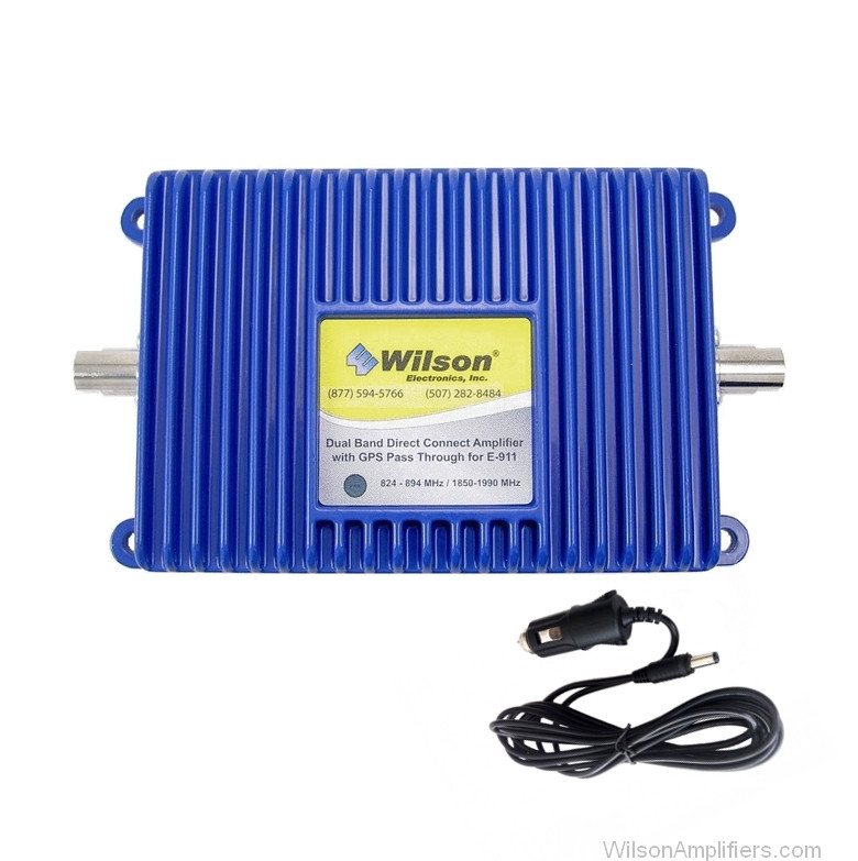 Wilson 811201 Direct Connection 20 dB Amplifier Dual Band with DC power supply, main image