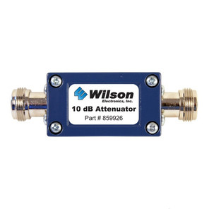 Wilson 859926 10 dB Attenuator w/ N Female Connectors, main image