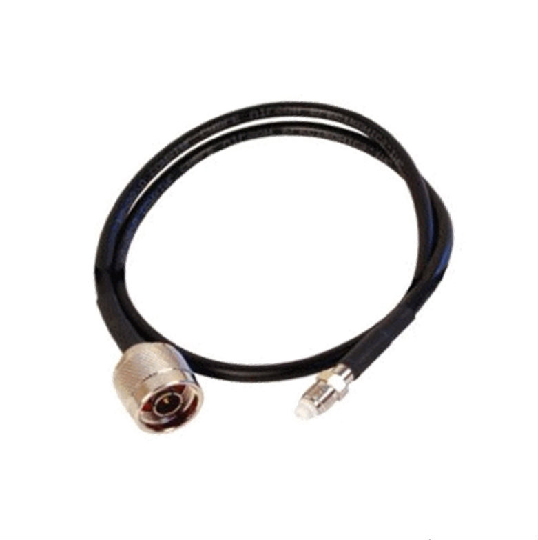 Wilson 951110 2-Foot Black Extension Cable RG58U Low Loss Foam Coaxial w/ N-Male ÌÎå«ÌÎ_ÌÎÌ_ÌÎåÌÎÌ_ÌÎå´ FME Female Connectors, main