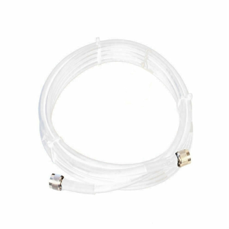 Wilson 952410 10-Foot WILSON400 Ultra Low Loss Coaxial Cable N Male ÌÎå«ÌÎ_ÌÎÌ_ÌÎåÌÎÌ_ÌÎå´ N Male White, main