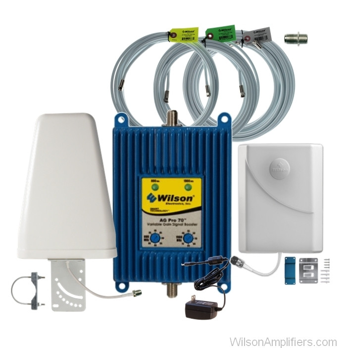 Wilson 801265-BL AG Pro 70 dB Dual Band Amplifier Kit for Large Buildings, main