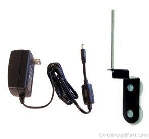 Wilson 859912-B Home/Office kit for Mobile Wireless with 6V AC Power Supply and Long Radial Window Mount, main image