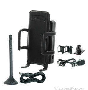 Wilson 815126 Sleek 4G-V Cradle Mobile Tri-Band Signal Booster Kit for Verizon LTE, main image